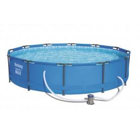 Nadzemní bazén Bestway Steel Pro Flame 366 x 76 cm s filtrací