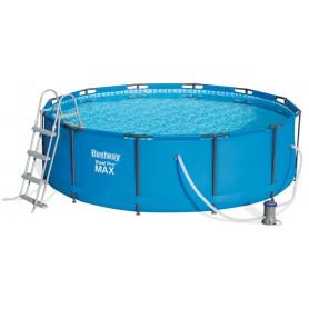 Nadzemní bazén Bestway Steel Pro Frame 366 x 100 cm s filtrací