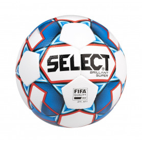 Fotbalový míč Select FB Brillant Super TB White/Blue