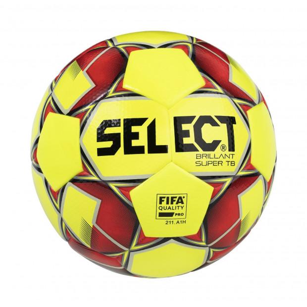 Fotbalový míč Select FB Brillant Super TB Yellow/Red
