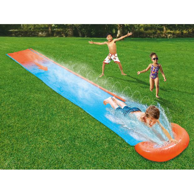 Vodní zahradní skluzavka Bestway Single H2O GO 549 cm