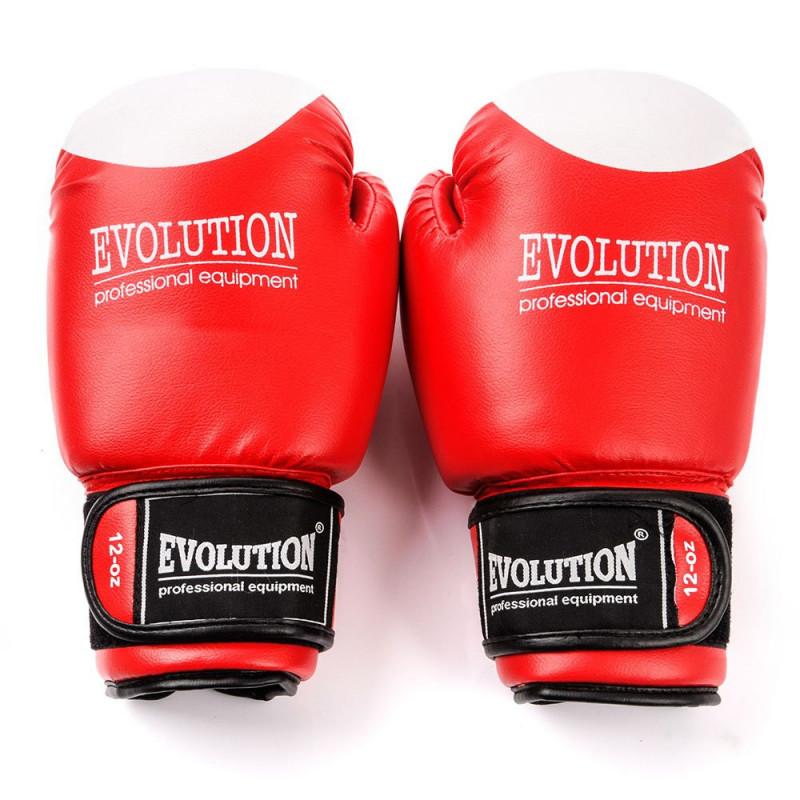 Boxerské rukavice Evolution Professional RB21 12 oz Red