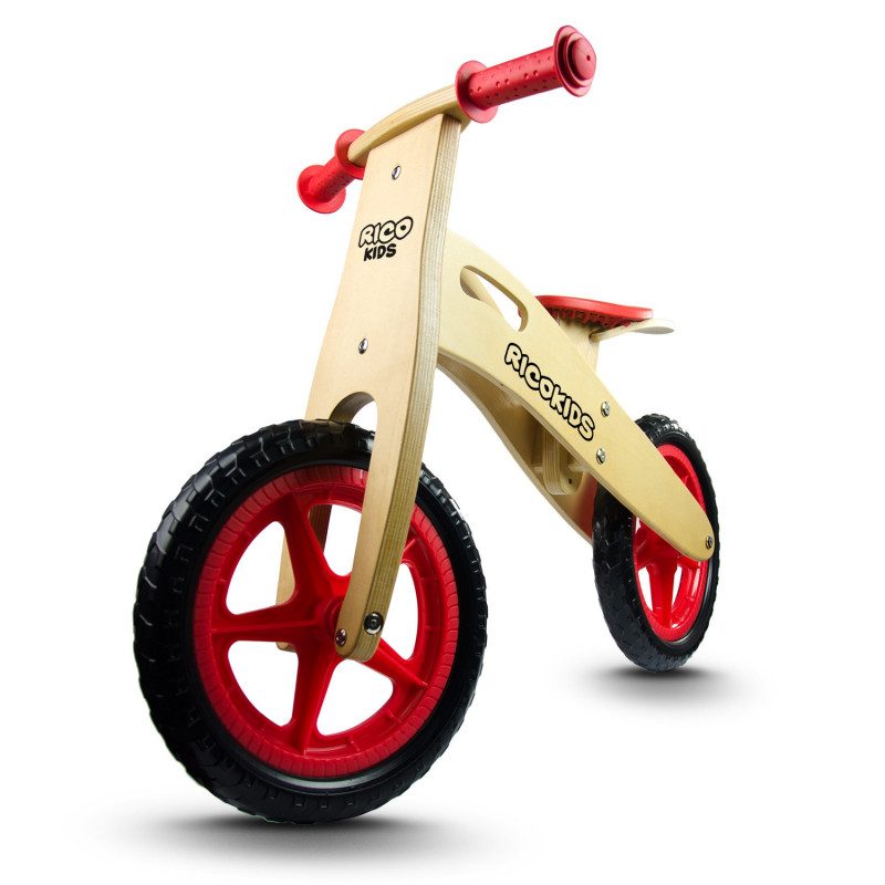 Dětské dřevěné odrážedlo Ricokids RC-201