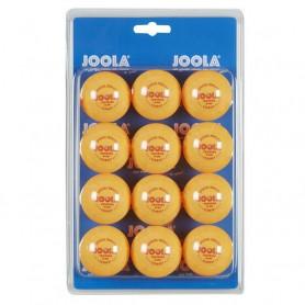 Tréninkové míče na stolní tenis Joola 40 mm, 12 ks, žluté