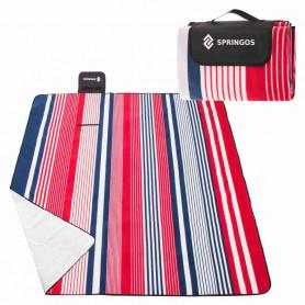 Velká pikniková deka SPRINGOS L Prime 200 x 160 cm