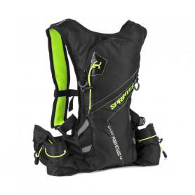 Cyklistický a běžecký batoh Spokey Sprinter 5l zelený