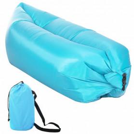 Nafukovací vak SPRINGOS Sofa Lazy Bag Blue 190 x 85 x 62 cm / 180 kg