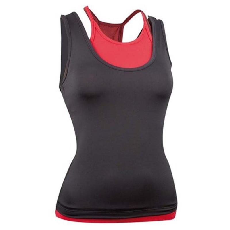 Dámský nátělník Avento Fitness HG Black