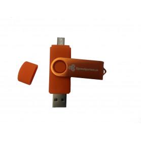 Vysokorychlostní Flash disk 64 GB USB 2.0 a Micro USB