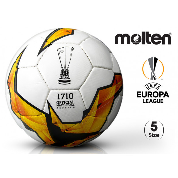 Fotbalový míč Molten Europa League F5U1710-K19