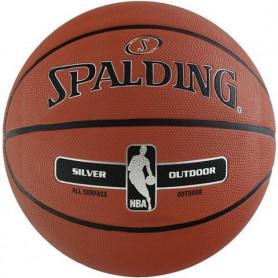 Basketbalový míč Spalding NBA Silver Outdoor, velikost 5