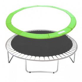 Molitanový kryt pružin Springos na trampolíny 305 cm / 10 ft zelený