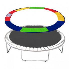 Molitanový kryt pružin Springos na trampolíny 366 cm / 12 ft barevný