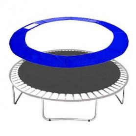 Molitanový kryt pružin Springos na trampolíny 396 cm / 13 ft modrý