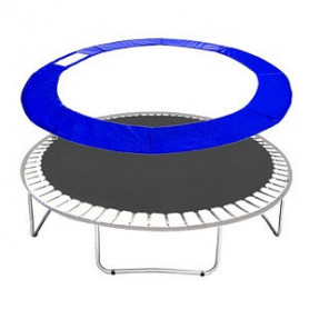Molitanový kryt pružin Springos na trampolíny 426 cm / 14 ft modrý