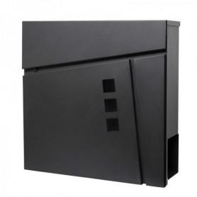 Poštovní schránka Springos MB0025 37 x 37 cm černá mat