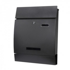 Poštovní schránka Springos MB0026 45 x 35 cm černá mat