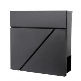 Poštovní schránka Springos MB0011 37 x 37 cm černá mat