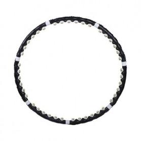 Hula Hoop obruč Springos FA0094 85 cm černá