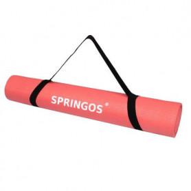 Podložka na jógu Springos YG0036 173 x 61 x 0,4 cm / neon