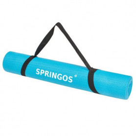 Podložka na jógu Springos YG0035 173 x 61 x 0,4 cm / modrá