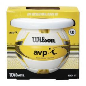 Plážová sada Wilson WTX0523 KIT volejbalový míč + frisbee