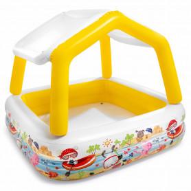 Dětský bazén Intex 57470 se střechou 157 x 157 x 122 cm