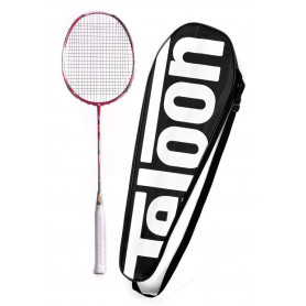 Badmintonová raketa TELOON Blast TL500 Red 89g 22Lbs