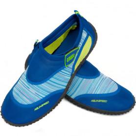 Neoprenové boty do vody Aqua Speed O1697 2C modré