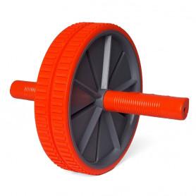 Dvojité posilovací kolečko PRO fit DK 3216 Orange