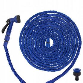 Zahradní smršťovací flexi hadice Springos X-Hose GA0100 20-60 m / modrá