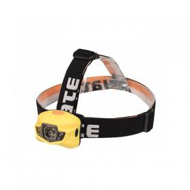 Čelovká YATE PANTER 3 W CREE+2 LED žlutá
