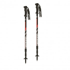 Trekingové hole FIZAN Trek Antishock S207515 red
