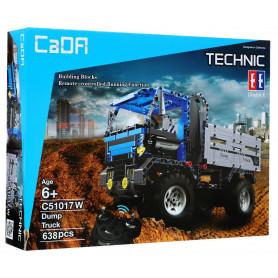 RC nákladní auto Truck Blue z 638 dílů ke složení