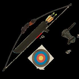 Lukostřelecký set YATE Chameleon v blistru (2 šípy)