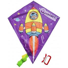 Létající drak MASTER 60 x 70 cm - raketa