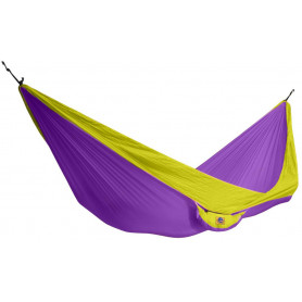 Houpací síť KING CAMP Parachute - purpurovo-žlutá