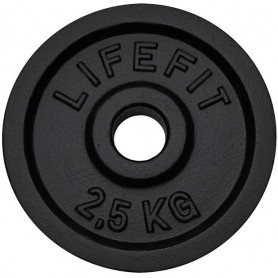 Kotouč LIFEFIT 2,5kg, kovový, pro 30mm tyč