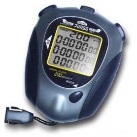 Stopky elektronické Junso 200LAP černo/šedé velikost 86 x 68 x 27,5 mm