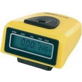 Krokoměr Junso 300B digitální, žlutá
