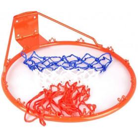 Koš na basket + síťka 1991 TBS02, červená