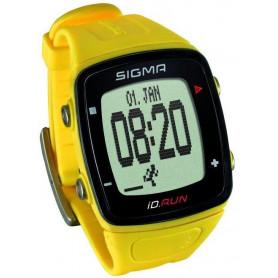 Pulsmetr SIGMA ID.Run žlutý