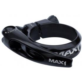 Sedlová objímka MAX1 Race 34,9 mm rychloupínací černá