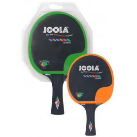 Pálka na stolní tenis JOOLA COLORATO, Zeleno-oranžová