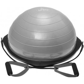 Balanční podložka LIFEFIT BALANCE BALL TR 58cm, stříbrná