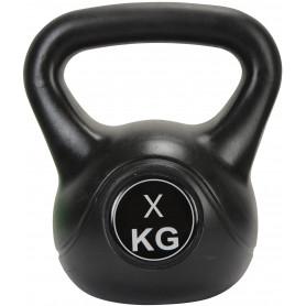 Činka kettlebell Exercise Black, 15 kg