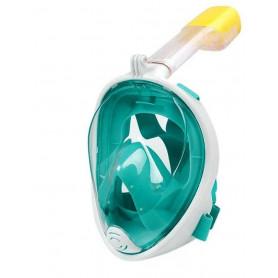 Potápěčská maska se šnorchlem FREEBREATH, Velikost S/M