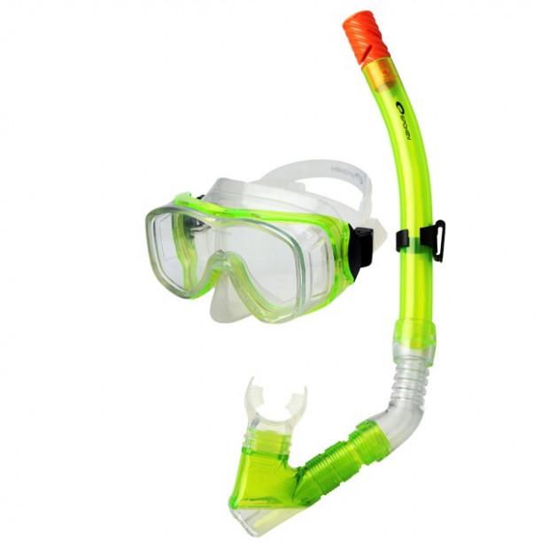 Potápěčská sada Spokey Cefeus Green