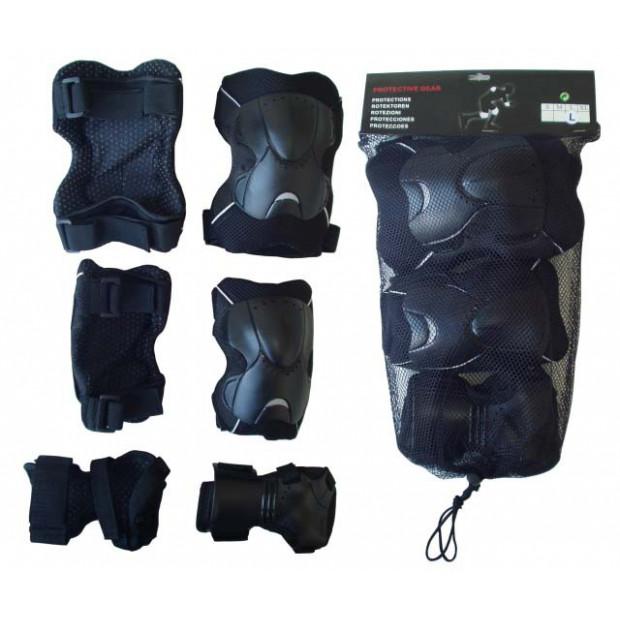 Chrániče kolen, loktů a zápěstí (sada)