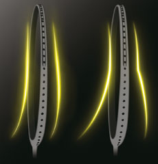 Yonex technologie New Aero Frame